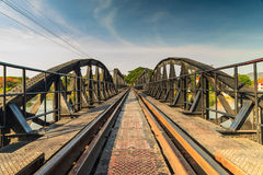 Bridge over River Kwai. Royalty Free Stock Image