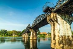 Bridge over River Kwai. Stock Photo