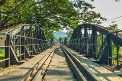 Bridge over River Kwai. Stock Photo