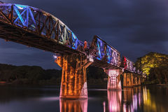 Bridge over River Kwai. Royalty Free Stock Photo