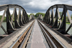Bridge over River Kwai, Thailand Stock Images