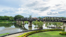 The Bridge Over the River Kwai, Thailand Stock Photo