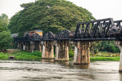 Bridge over the River Kwai Royalty Free Stock Photo