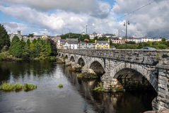 Bridge over the River Laune Stock Images