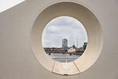 Bridge over River Liffey,Dublin Stock Photography