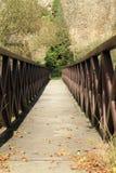 Bridge over river Malse Stock Photo