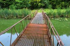Bridge over river Royalty Free Stock Photo