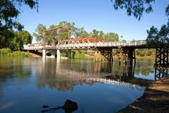 Bridge Over the River Murray Stock Images