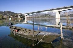 Bridge over river Neretva Royalty Free Stock Photography