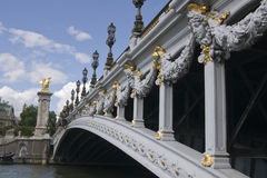 Bridge over the River Seine Stock Photos