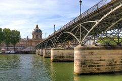 Bridge over river Seine Royalty Free Stock Images