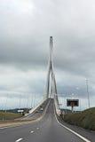 Bridge over river Seine Stock Images