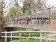 Bridge over the river stour in essex Royalty Free Stock Photography