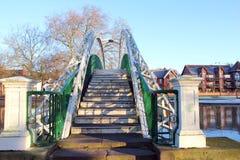 Bridge over a river. Royalty Free Stock Photo