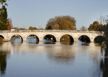 Bridge over the River Thames Stock Photography