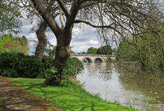 Bridge over the River Thames in Berkshire, England Stock Photography