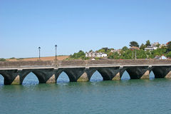Bridge over River Torridge Royalty Free Stock Image
