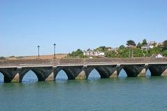 Bridge over River Torridge Royalty Free Stock Image