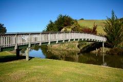 Bridge over a river Stock Image