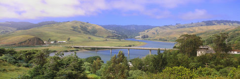 Bridge over Russian River Stock Photography