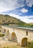 Bridge over Sabor River Stock Image