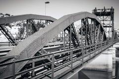 Bridge over Sado river. Alcacer do Sal, Portugal Stock Photos