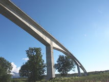Bridge. Over Saltstremmen Bod�, Norway Stock Image