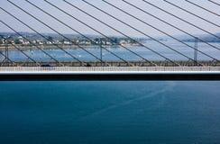 Bridge over the sea Stock Photo