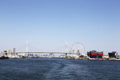 Bridge over the sea in japan Royalty Free Stock Photography