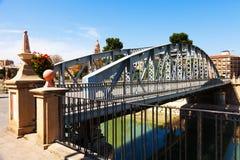 Bridge over Segura  called Puente Nuevo Stock Photography