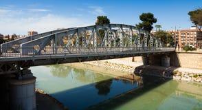 Bridge over Segura river called Puente Nuevo Royalty Free Stock Photo