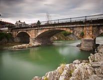 Bridge over Sella river in Cangas de Onis Stock Photo