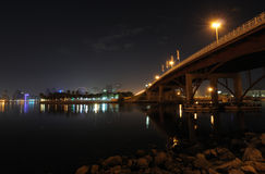 Bridge over Sharjah Creek Stock Image