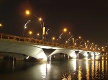 Bridge over Singapore River Royalty Free Stock Photos