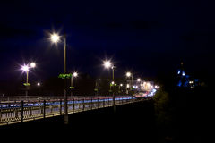 Bridge Over Smotrych River Stock Photo