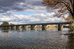 Bridge over the Snake River Royalty Free Stock Image