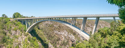 Bridge over the Storms River Stock Photography