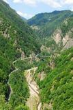 Bridge over tara river. In Montenegro Stock Photo