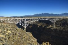 Free Bridge Over The Rio Grande Royalty Free Stock Photography - 3586927