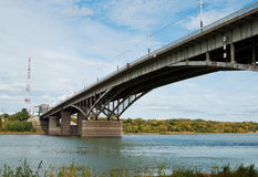 Bridge Over The River Royalty Free Stock Photography
