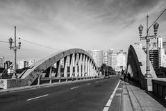 Bridge over trouble avenues Royalty Free Stock Image