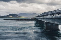 Bridge over troubled water Royalty Free Stock Images