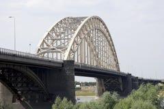 Bridge over the Waal in Nijmegen Royalty Free Stock Photos