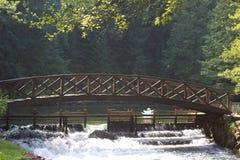 Bridge over water stock images