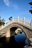 Bridge over water. Chinese traditional Bridge over water Stock Photography