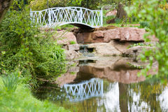Bridge Over Water royalty free stock photography