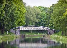 Bridge over water Royalty Free Stock Images