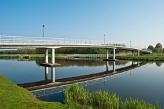 Bridge over water, Holland Stock Photo