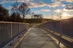 Bridge over water Stock Image