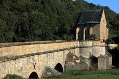 The bridge over the Werra Royalty Free Stock Photo